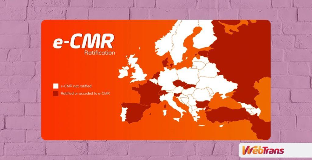 cmr electronico, documentacion para el transporte internacional