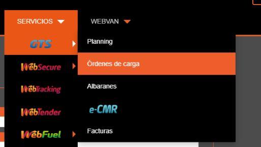 sistema de gestión WebTrans