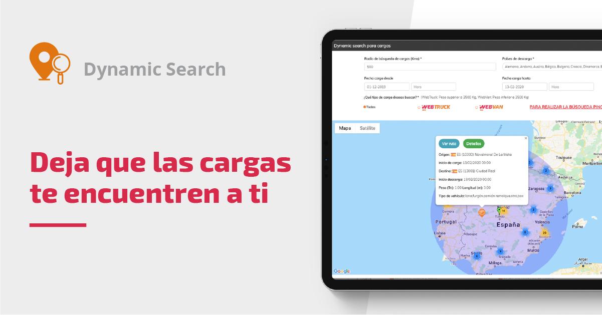 Screenshot dynamic search
