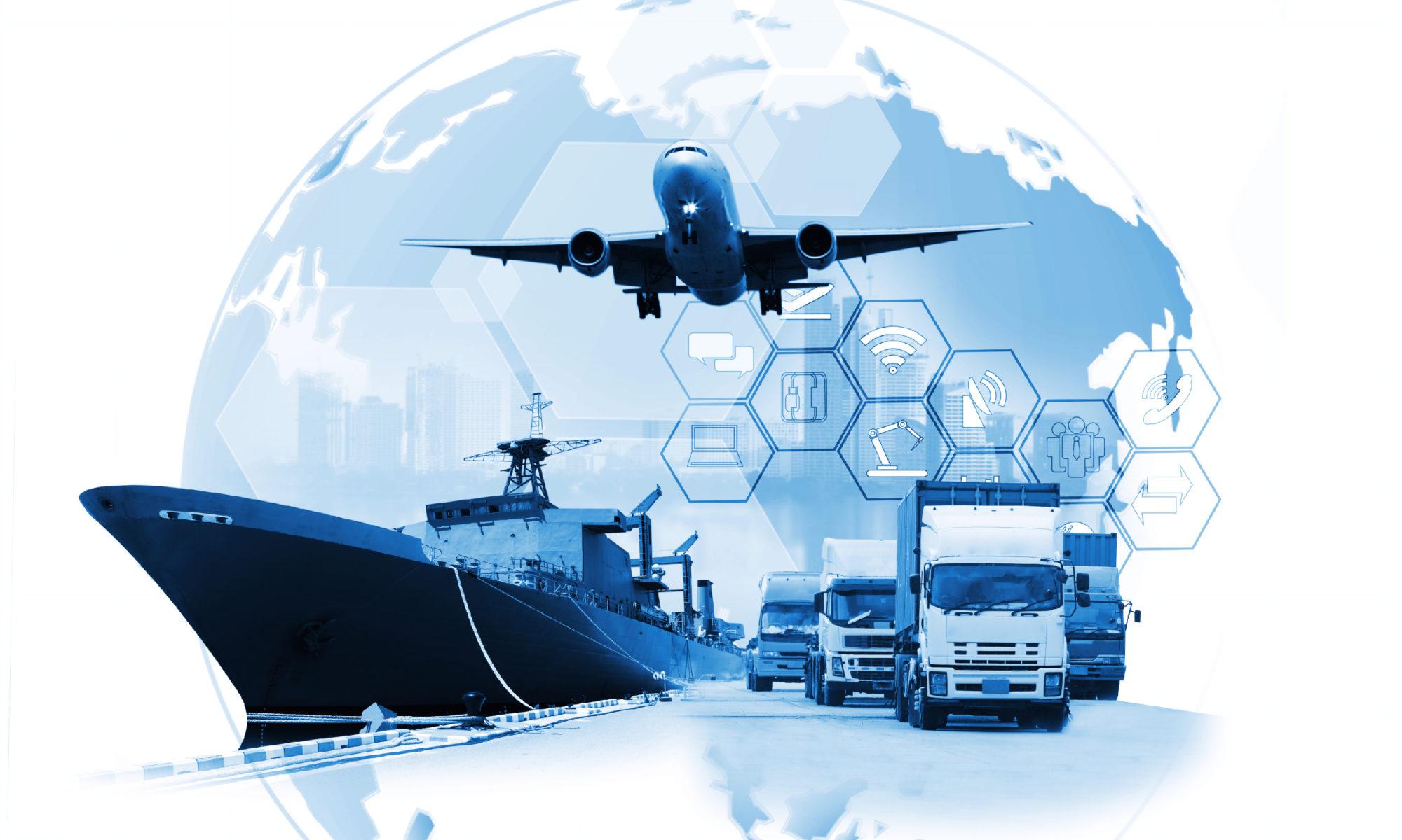 conectividad en el transporte de mercancías